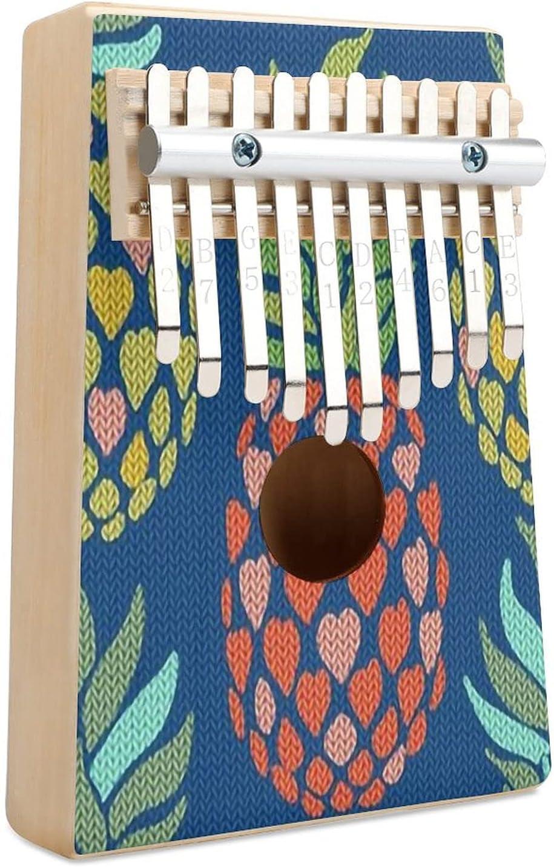 Pineapple Super Max 72% OFF special price Bright Knit Kalimba Thumb Piano Finger 10 Key Mu