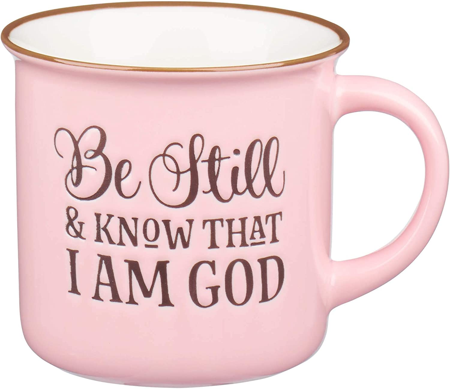 Be Still super welcome and Know Pink Camp Outlet sale feature Cerami 46:10 Mug Coffee Style Psalm