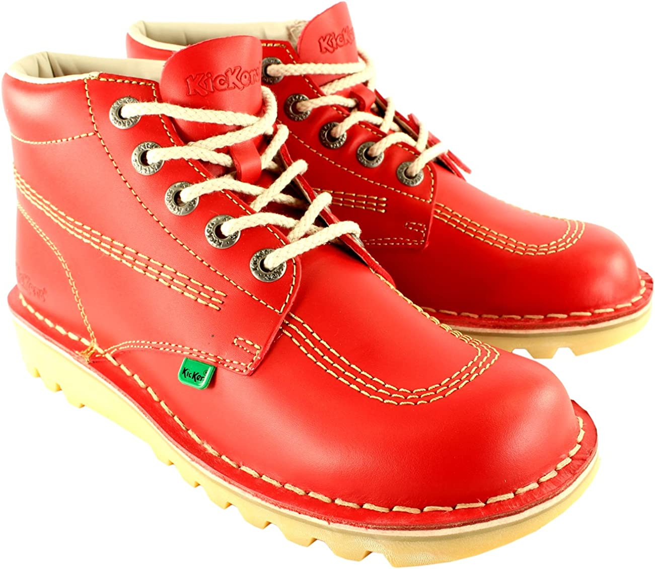Womens Kickers Kick Hi Classic Leather Work Ranking TOP1 Boots Office online shopping S Ankle