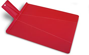 Joseph Joseph Large Chop 2 Pot Cutting Board, Red