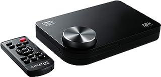 Creative SB X-Fi Surround 5.1 Pro v3- Tarjeta de sonido externa USB (con SBX Pro Studio, para Windows 10), negro