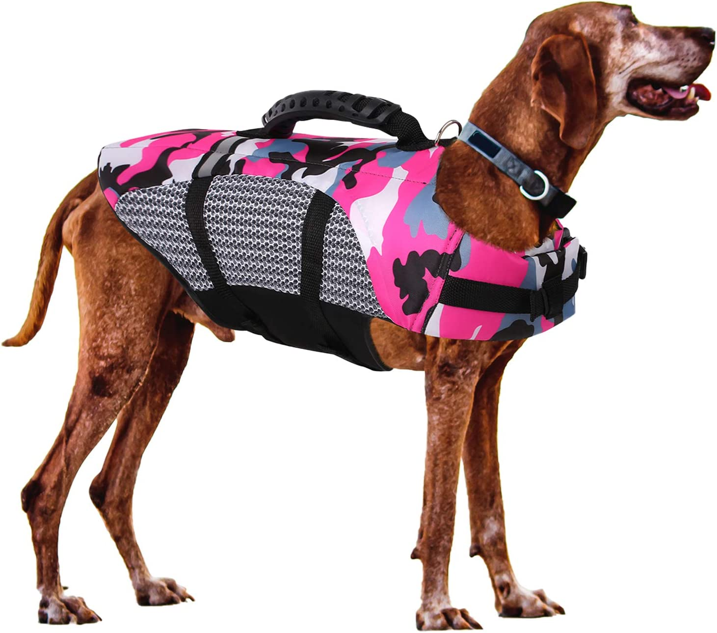 Super sale period limited SAWMONG Dog Large special price Life Jacket for Small Dogs Adjustable Medium