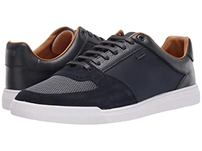 BOSS Hugo Boss Cosmo Ten Sneakers by BOSS (Dark Blue) Men