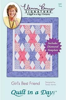 Quilt in a Day Eleanor Burns Quilt Patterns, Girl's Best Friend