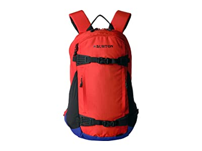 Burton Dayhiker 25L (Flame Scarlet Triple Ripstop) Day Pack Bags