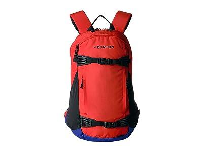 Burton Dayhiker 25L (Flame Scarlet Triple Ripstop) Day Pack Bags