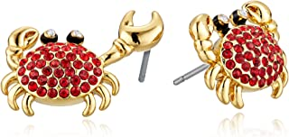 Kate Spade New York Women's Shore Thing Pave Crab Studs Earrings
