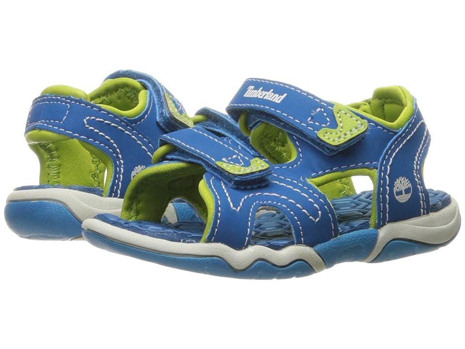 Timberland Kids Adventure Seeker 2 Strap Sandal (Toddler/Little Kid) (Mykonos Blue) Kids Shoes