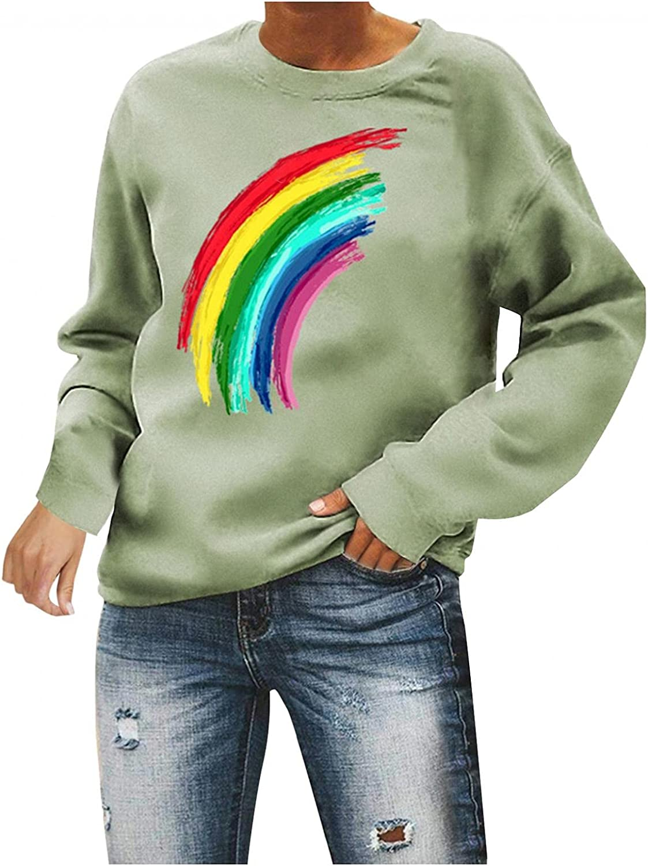 Our shop most Max 63% OFF popular Qisemi Womens Crewneck Sweatshirts Sleeve Tops Long Rain