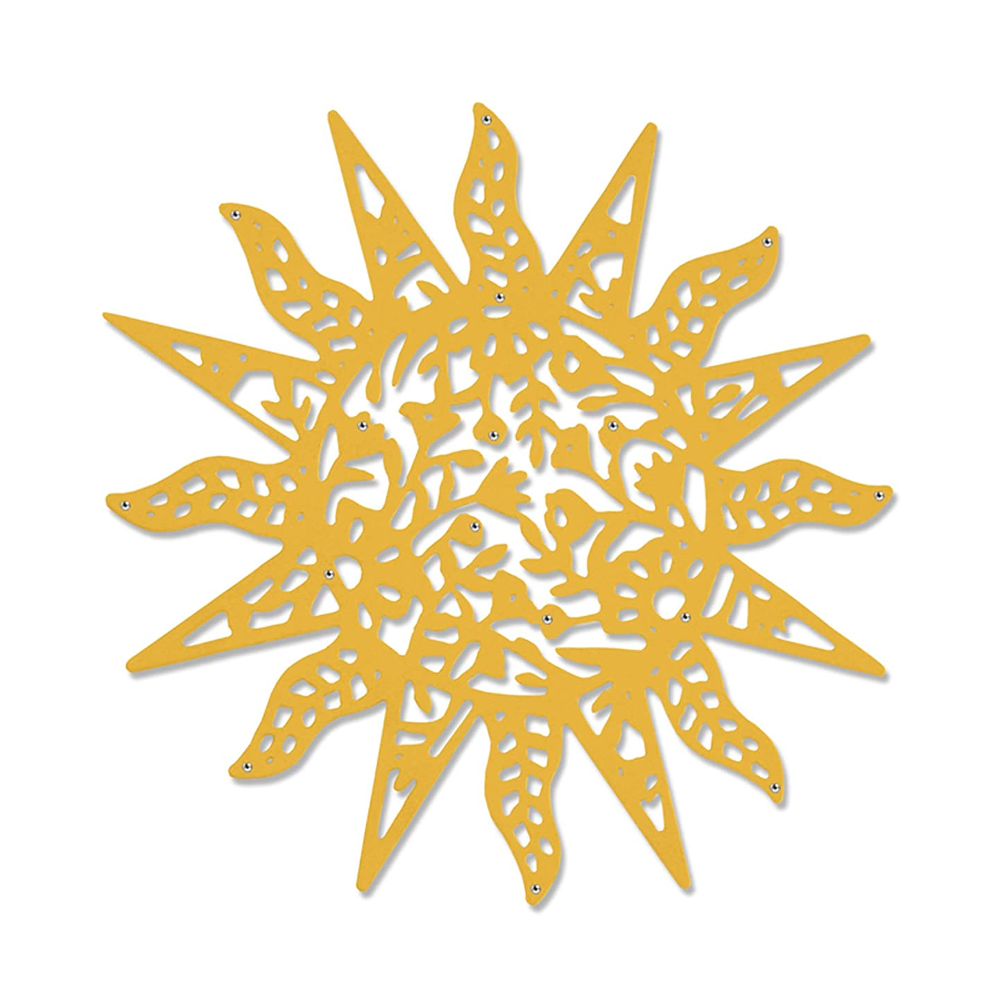 Sizzix 663417 Intricate Sun by Sophie Guilar Dies, Multicolor