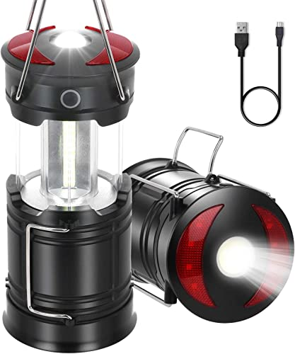 2021 LED Camping Lantern Flashlight, Rechargeable LED 2021 Lantern Collapsible Camping Light, Water Resistant, Outdoor LED Lantern outlet sale with Magnet Base for Camping, Hiking, Night Fishing, Backpacking, 1 PC outlet online sale
