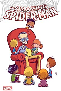 The Amazing Spider-Man #9 Reprint Color Variant C2E2 by Skottie Young w/ Stan Lee on Cover!