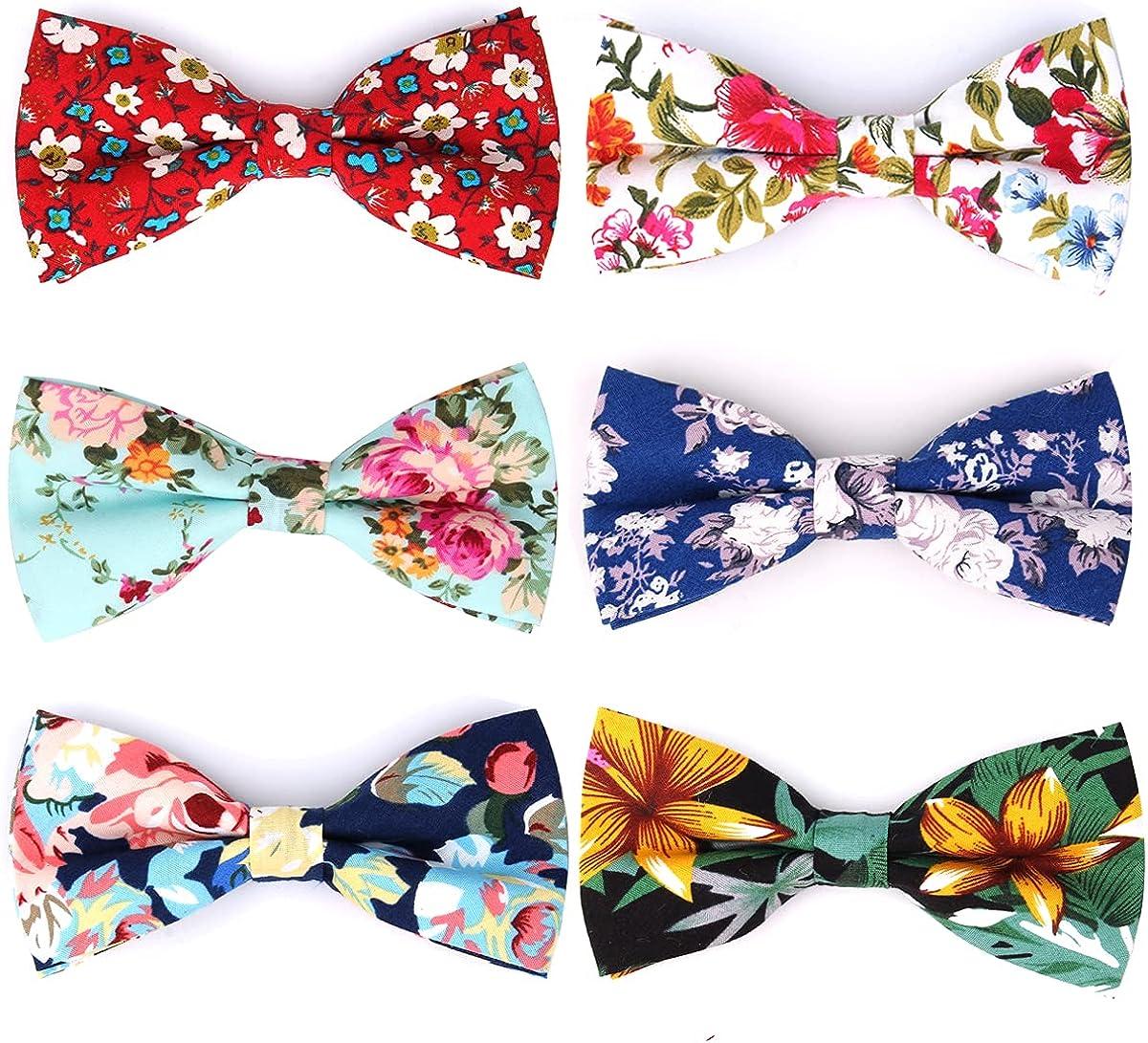 Gemay G.m Men's Bow ties Adjustable Pre-tied Bow-ties For Men Boys Wedding Gifts (BT/W)