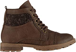 Soviet Kids Boys Nelson Child Boots Rugged Lace Up Zip Padded Tongue Shoes