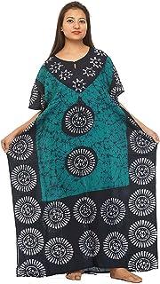 GE Export Women'S Cotton Floral Maxi Nighty RDSRKAZ2104477