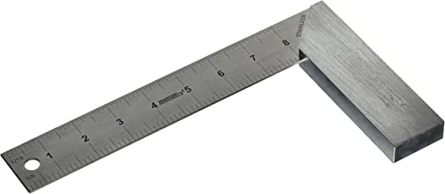 Johnson Level & Tool 1908-0800 Aluminum Try Square