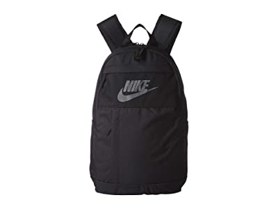 Nike Elemental LBR Backpack 2.0 (Black/Black/White) Backpack Bags