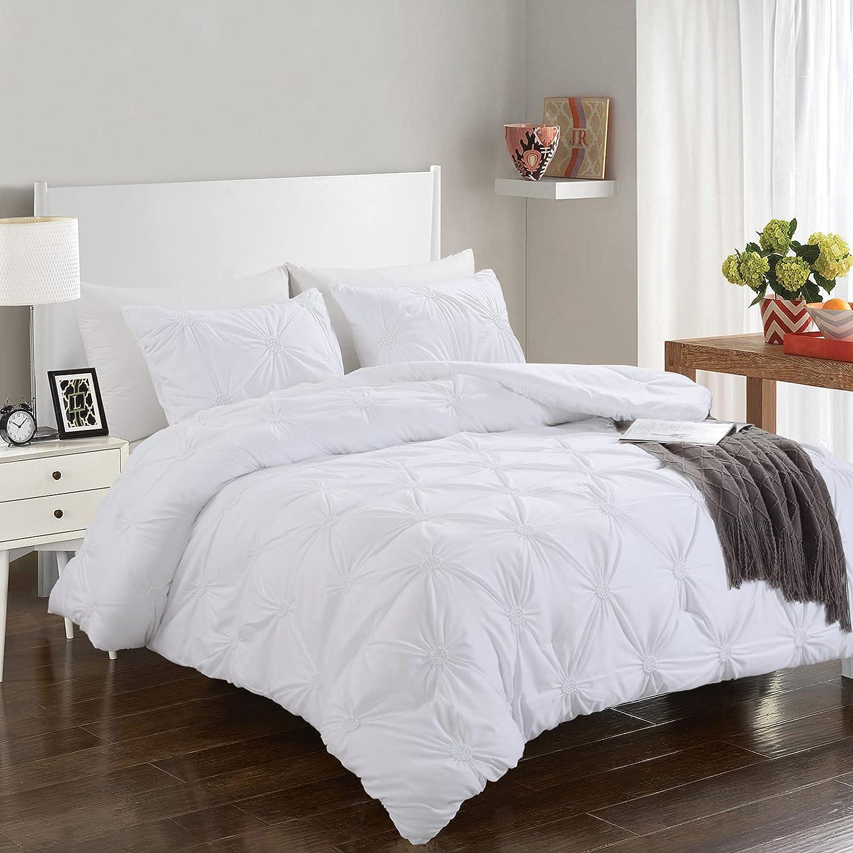 HOMBYS White King Size Bedding Popular popular Max 48% OFF Soft Ultra Summer Sets Comforter