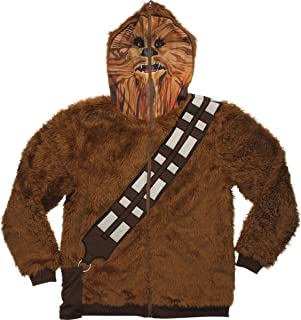 Star Wars Chewbacca Hoodie Mask Zip