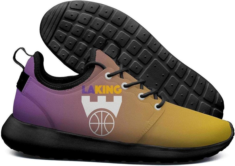 Womens Roshe Two Lightweight LAKING_Purple_labron_Basketball Stylish Cross-Trainer mesh shoes