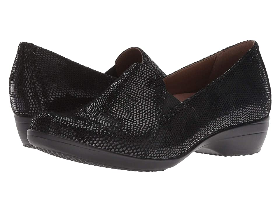 Dansko Farah (Black Lizard) Women