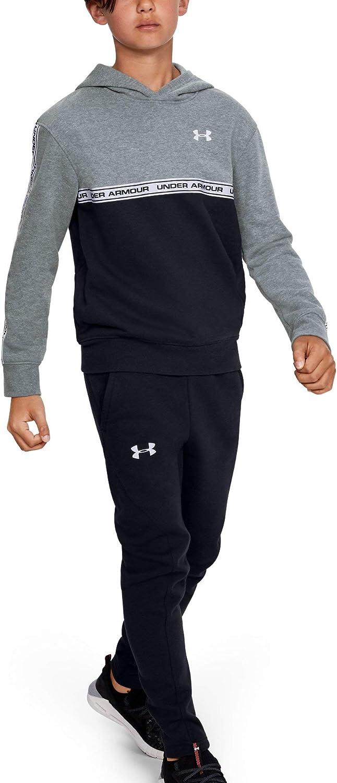 Under Armour Boys' UA Sportstyle Fleece Hoodie YMD Gray