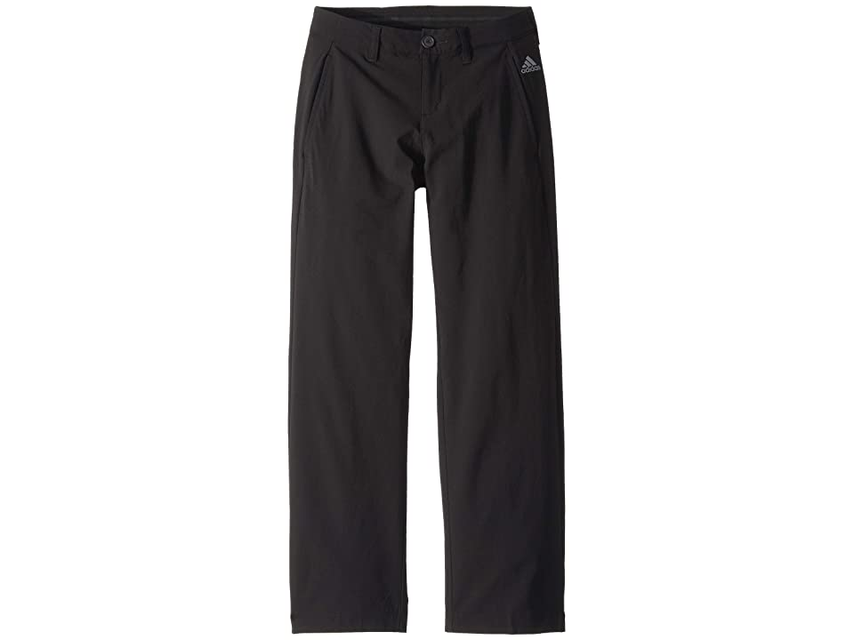 Image of adidas Golf Kids Solid Golf Pants (Little Kids/Big Kids) (Black) Boy's Casual Pants