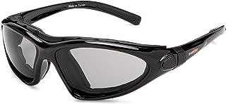 Bobster MH5038QC Road Master Prescription Ready Sunglasses,Black Frame/Photochromic Lens,one size