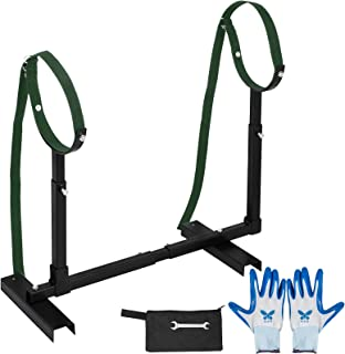 Happybuy Fully Adjustable Grooming Breeding Stand W Collars Apbt Pit Bull Bulldog