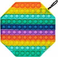FEAYEA Simple Dimple Sensory Fidget Toy Stress Relief Anti-Anxiety Autism Hand Toys,Anxiety Stress Reliever Office and Desk Toy for Kids and Adults(2pcs)