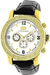 Watches Mens Diamond Watch 0.25ct Yellow