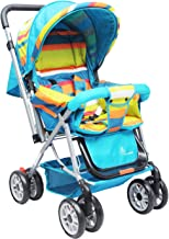 R for Rabbit Lollipop Lite Colorful Stroller and Pram with Easy Fold for Newborn Baby | Kids of 0 to 3 Years (Multicolor)