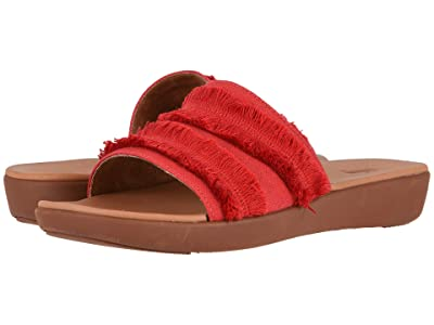 FitFlop Sola Fringe (Adrenaline Red/British Tan) Women