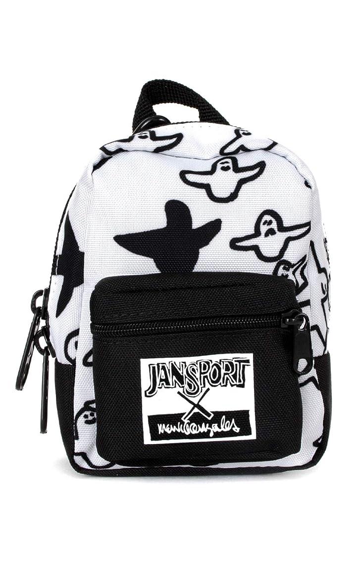 ごめんなさい不承認ロッカーJanSport x Mark Gonzales(ジャンスポーツ/マークゴンザレス) 小物バッグ ポーチ Lil' Break Bag White/Black(ホワイト×ブラック)