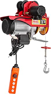 Mophorn 440LBS Electric Hoist with 1100LBS Trolley Electric Chain Hoist with Trolley 40FT Chain Electric Hoist and Electric Trolley for Goods Lifting (200 Kg)