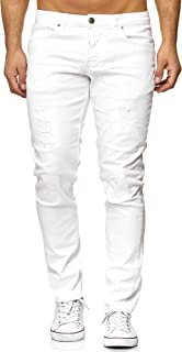 Elara Jeans Uomo Pantaloni Slim Fit Denim Stretch Chunkyrayan