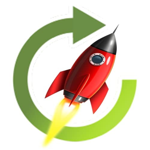 Rocket Cleaner POWERFUL BOOST, CLEAN CACHE, NO INTERNET, COMPLETELY PRIVATE, NO ADS, compatible with FIRE PHONE & TABLET