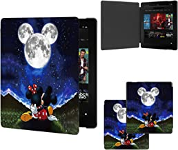 DISNEY COLLECTION Case for All-New Kindle Oasis (10th/9th Generation, 2019/2017 Release) - Slim Fit Stand Cover Support Ha...