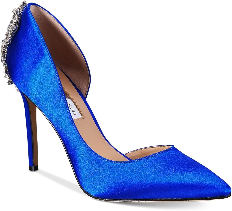 INC International Concepts Womens Kesya Embellished dOr Dazzling bluee 7.5M