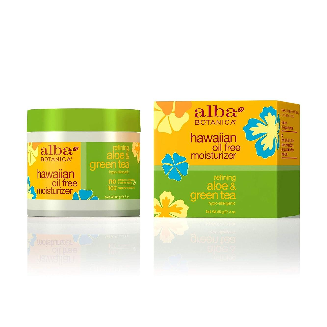 グループエキサイティングに対応Alba Botanica, Aloe & Green Tea Oil-Free Moisturizer, 3 oz (85 g)