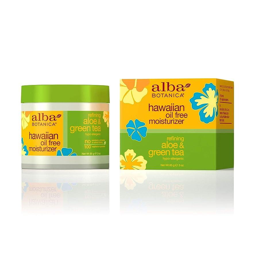 パイント印刷する増幅Alba Botanica, Aloe & Green Tea Oil-Free Moisturizer, 3 oz (85 g)