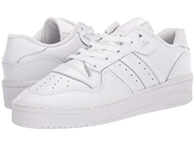 adidas Originals Rivalry Low (Footwear White/Footwear White/Core Black 1) Men