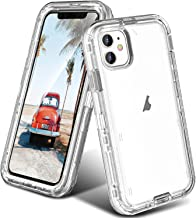 ORIbox iPhone 11 Case for Women & Men, Heavy Duty Shockproof Anti-Fall case, More Suitable for People with Big Hands, Crys...