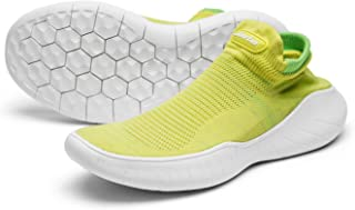 Jazba Sockun Yoga Comfort Sock Sneakers Easy On Easy Off Pet Walking Knitted Slip On Shoes for Women Gym Stretch Aerobics Traveling & Back Pain Relief