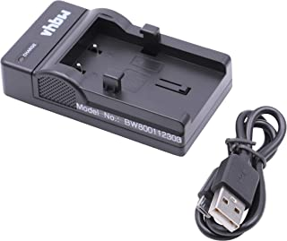 vhbw USB Akkuladegerät kompatibel mit Olympus Camedia C 50 Zoom, C 60 Zoom, C 70 Zoom Digitalkamera, Camcorder, Action Cam Akku   Ladeschale