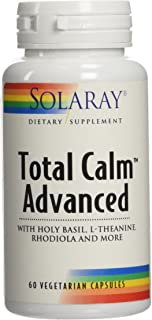Solaray Total Calm Advanced Veg Capsules | 60 Count