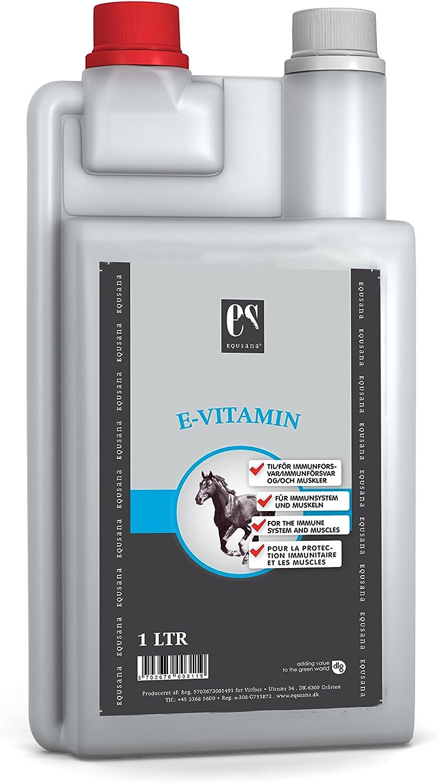equsana S de vitamina concentrado para caballos, 1L)