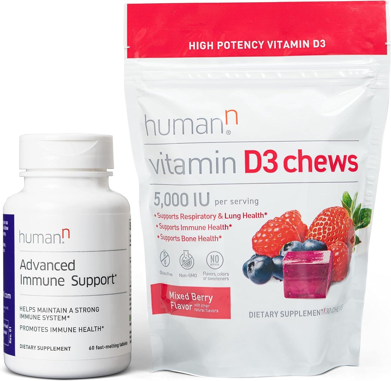 HumanN Regular discount Advanced Immune D3 Support Chews Soldering