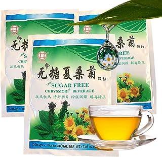 Gold Coins Brand Chrysanthemum Tea, Cane Sugar-Free Chrysmori Beverage Helps Reduce Pimple-Acne Problems, Less Summer Heat...
