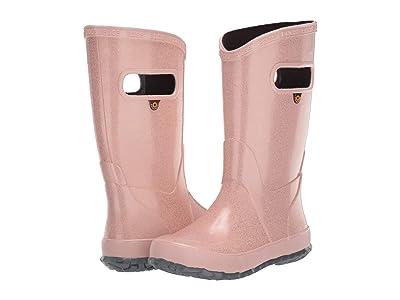Bogs Kids Rain Boot Glitter (Toddler/Little Kid/Big Kid) (Rose Gold) Girls Shoes